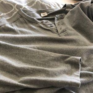 Old Navy men long sleeve shirt (heavier than tee)